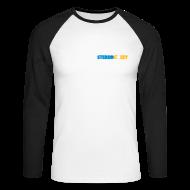 Long sleeve shirts ~ Men's Long Sleeve Baseball T-Shirt ~ Stereo Stokey Subtle Long Sleeve