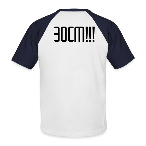 T-Shirt 30cm - T-shirt baseball manches courtes Homme