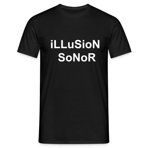 T-shirt iLLuSioN SoNoR - T-shirt Homme