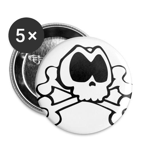 badge pirate - Badge moyen 32 mm