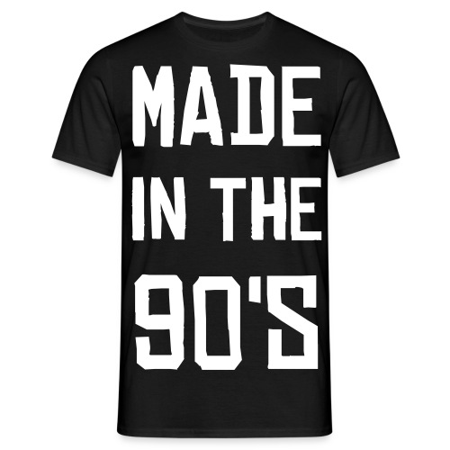 Made in the 90's - T-shirt herr