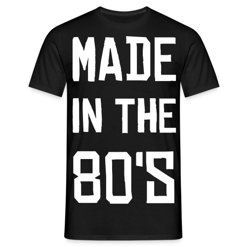 Made in the 80's - T-shirt herr