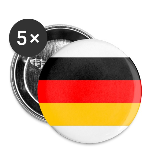 Button - Germany - Buttons klein 25 mm (5er Pack)
