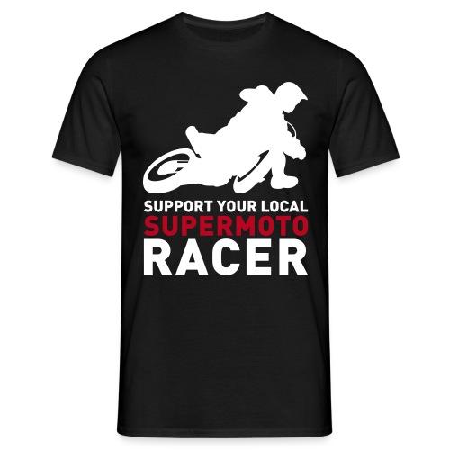 Tshirt Support Racer - Noir - T-shirt Homme