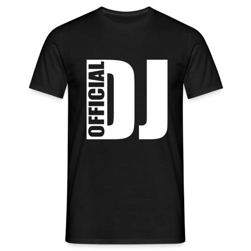 Official DJ D-Lex Shirt - Mannen T-shirt