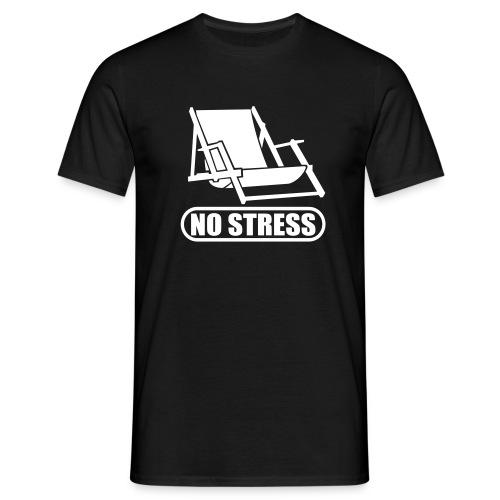no stress TS - Männer T-Shirt