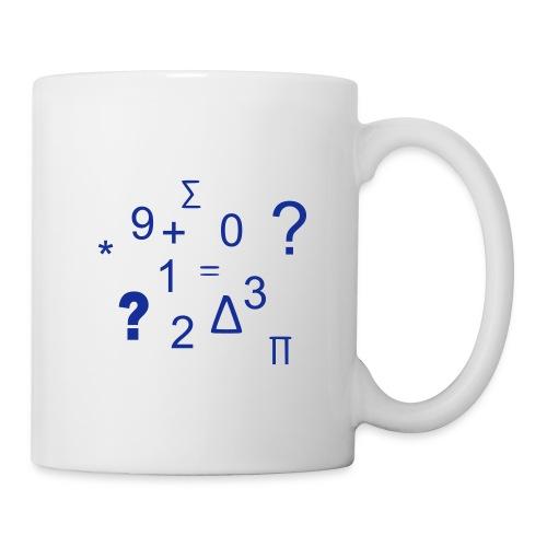 Les Maths - Mug blanc