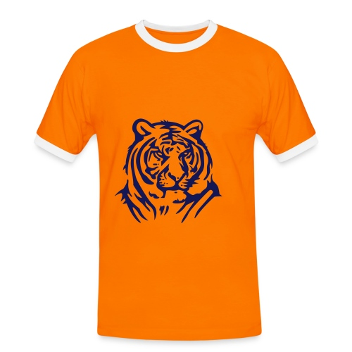 Löwen T-Shirt - Männer Kontrast-T-Shirt