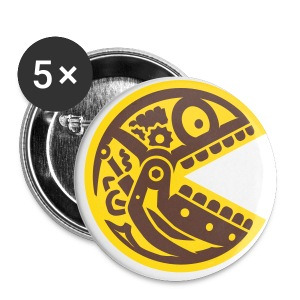 Pac Skull robotic 2C.2 - Buttons klein 25 mm