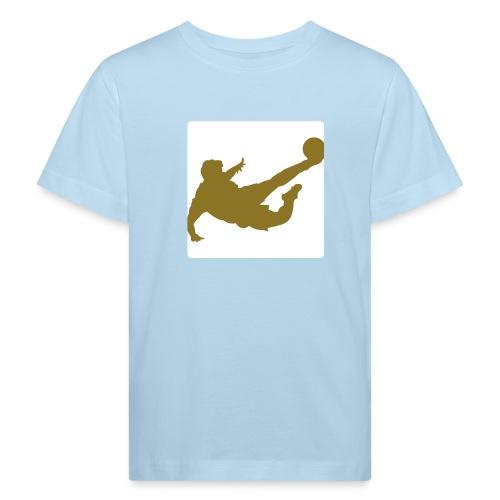 Kinder T-Shirt Seitfallzieher(Druck Leuchtet im Dunkeln) - Kinder Bio-T-Shirt