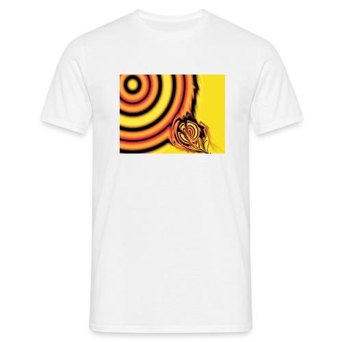 FireEye white - Männer T-Shirt