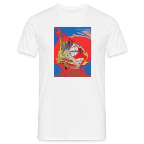 HiddenWindow white - Männer T-Shirt