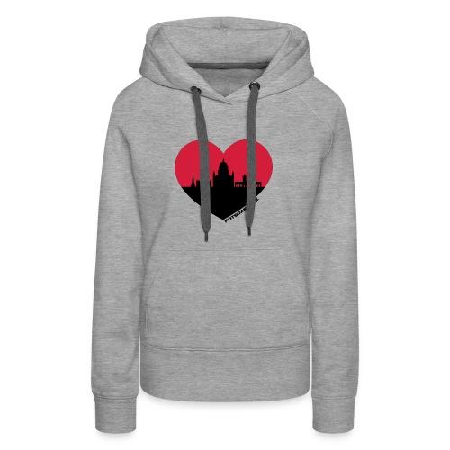 potsdamlove girls hoodie - Frauen Premium Hoodie