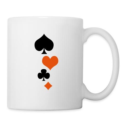 Jeux de Cartes - Mug blanc