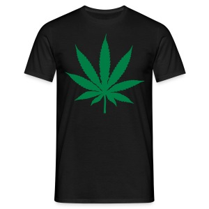 marijuana hemp leaf T shirt - Men's T-Shirt