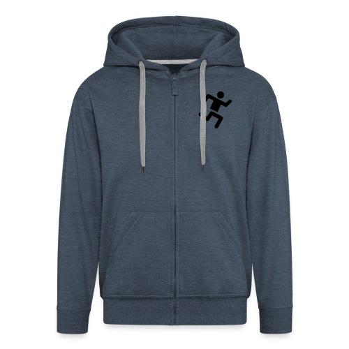 Runner - Men's Premium Hooded Jacket