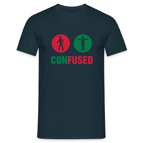 Confused - Männer T-Shirt