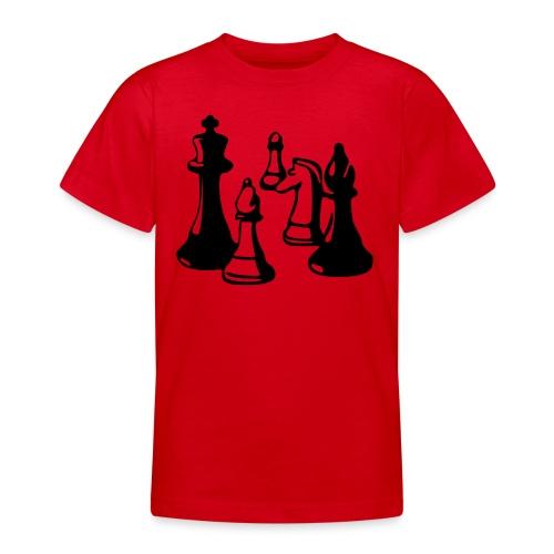 internationaal schaken - Teenager T-shirt