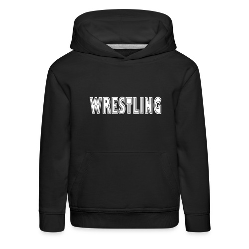 Wrestling Barn - Premium-Luvtröja barn