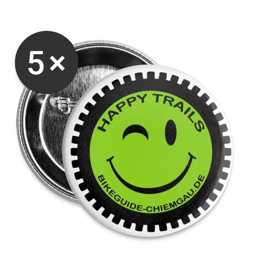 HAPPY TRAILS ;-) Anstecker Klein - Buttons klein 25 mm