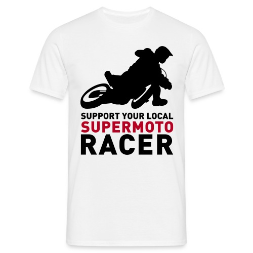 Tshirt Support Racer - blanc - T-shirt Homme