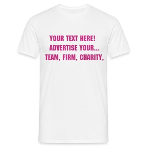 'YOUR TEXT' - Men's T-Shirt