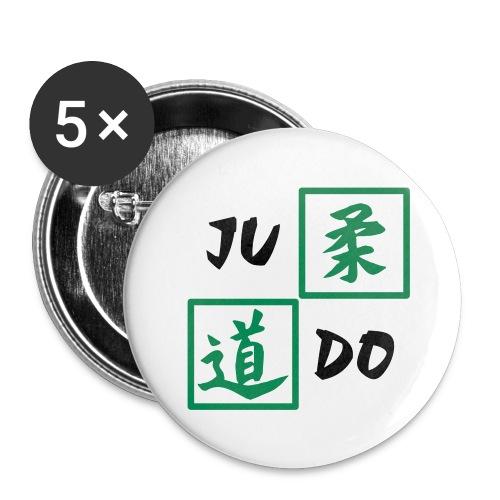 Judo Anstecker klein - Buttons klein 25 mm
