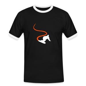 Sports: snowboard - Mannen contrastshirt