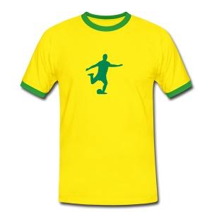 Sports: soccer2 - Mannen contrastshirt