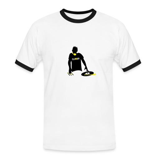GERLS-YG - Koszulka męska z kontrastowymi wstawkami