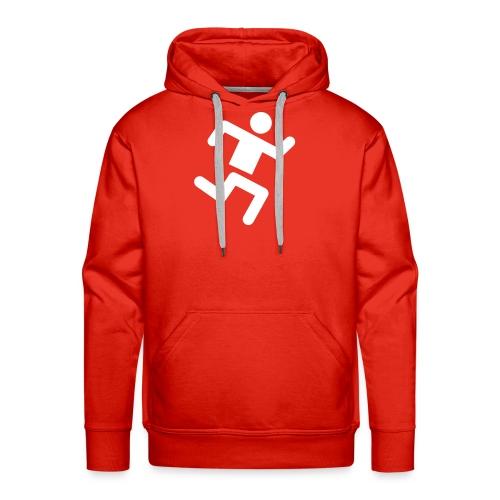 Classic Luvtröja - Medium Size Runner Logo - Premiumluvtröja herr