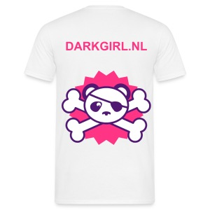 T-shirt White - Darkgirl.nl - Mannen T-shirt