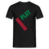 T-Shirts ~ Men's T-Shirt ~ Play Snooker