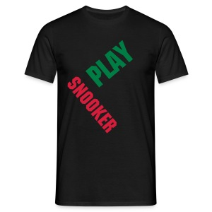 Play Snooker - Männer T-Shirt