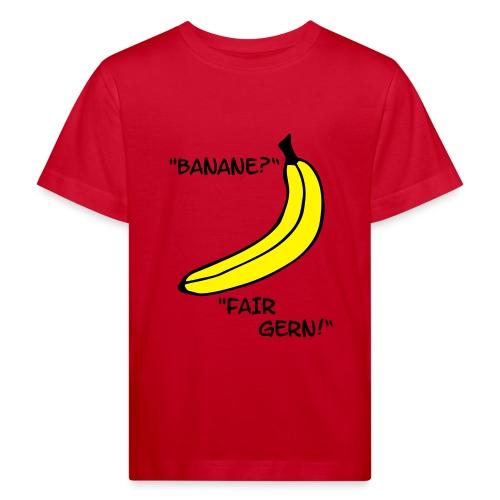 banane kids t-shirt - Kinder Bio-T-Shirt