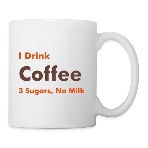 Work Mug - Coffee, 3 sugars, no milk - Mug