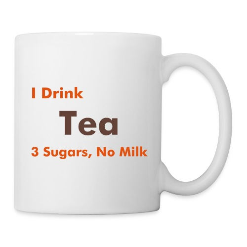 Work Mug - Tea, 3 sugars, no milk - Mug