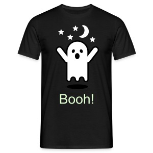 Booh! spook Man - Mannen T-shirt