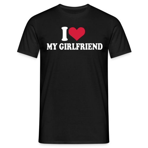 Girlfriend - Männer T-Shirt