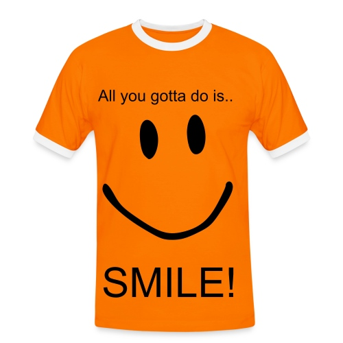 Smile! - Men's Ringer Shirt