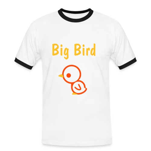 Big Bird 7 - Männer Kontrast-T-Shirt