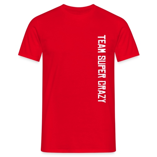 Team Super Crazy team shirt - Men's T-Shirt
