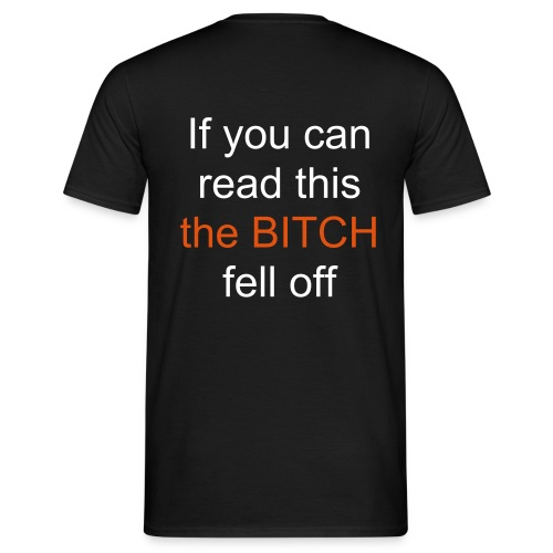 back_read_this - Men's T-Shirt