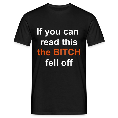 front_read_this - Men's T-Shirt