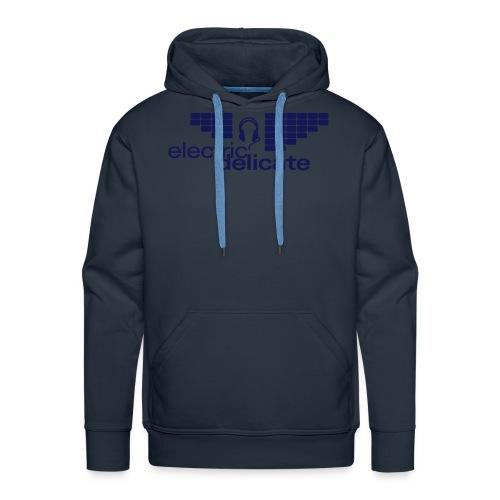 Kaputzenpulli (Logo blau) - Männer Premium Hoodie