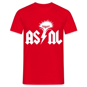 AS/NL - T-Shirt rouge - T-shirt Homme