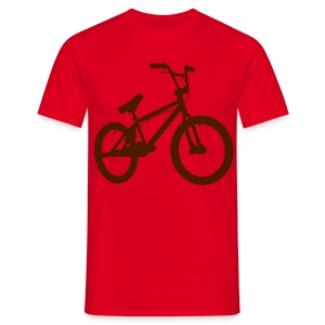 BMX Red/Maroon - T-shirt Homme