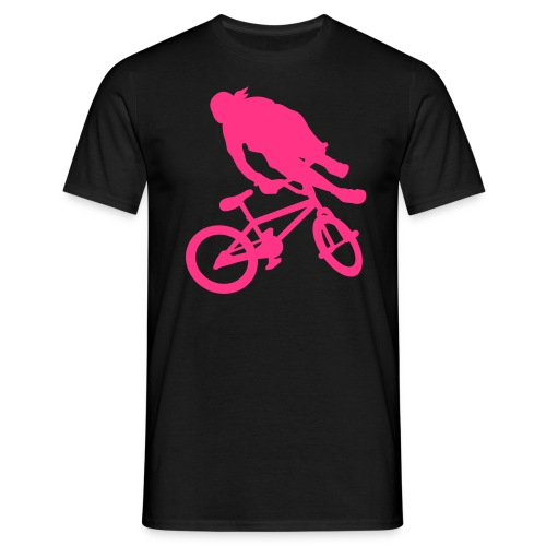 Tailwhip Black/Pink - T-shirt Homme