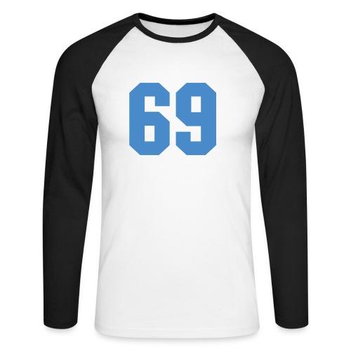Fun-Langarm-Shirt - Männer Baseballshirt langarm