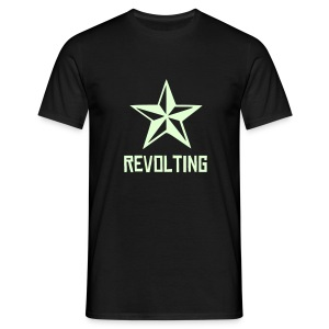 Revolting, mens, NEON text, any colour. - Men's T-Shirt